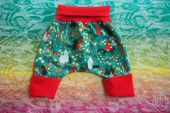 Petites tenues cousues pour baby renarde