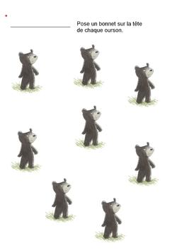 Un ours à l'école