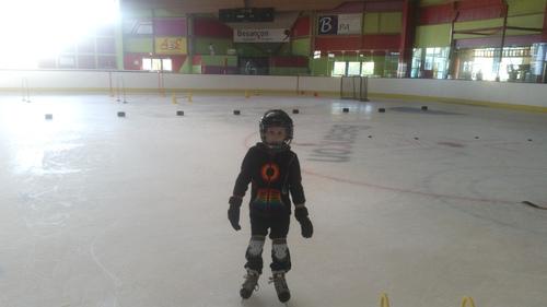 L'école de glace à l'essai