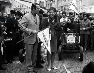 16 octobre 1966 / Course de la côte au ralenti à Montmartre