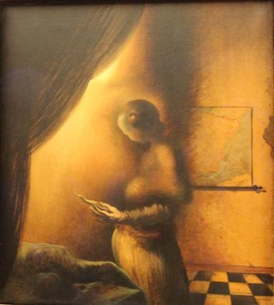 Blog de dyane :Traces de Vie, A Patou, image cachée de Dali....