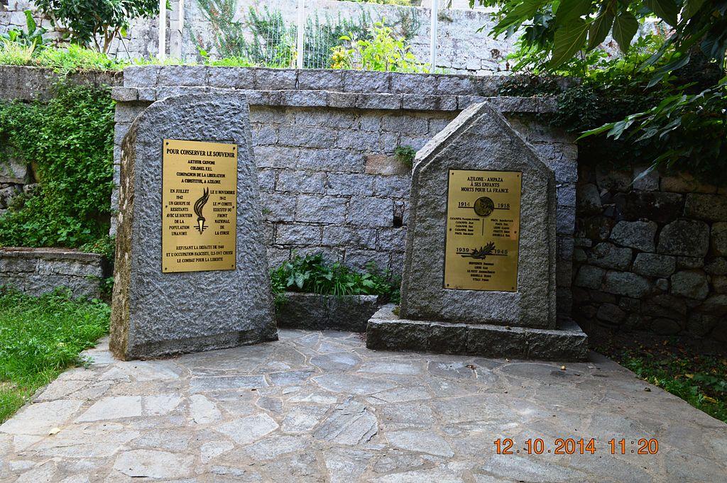 Azilone-Ampaza War Memorial.JPG