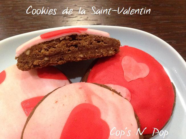 Les biscuits de la Saint-Valentin