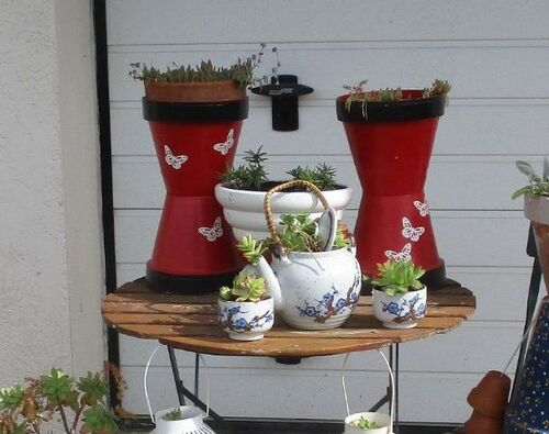 salon de thé à la Coste