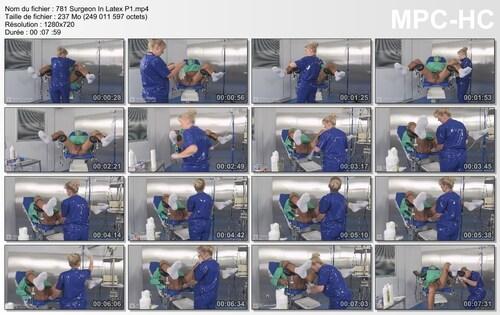Chirurgie pour un patient 1
