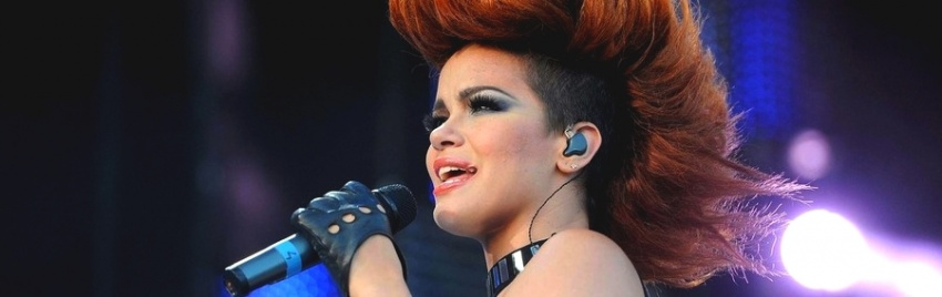 Eva Simons perform à l'Isle de MTV