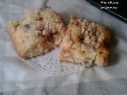 Gâteau aux noisettes et au nougat