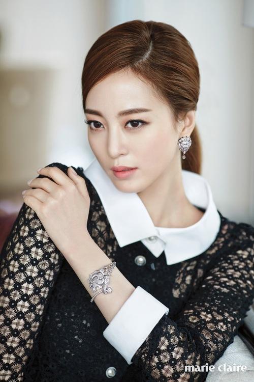 Han Ye Seul pour Marie Claire