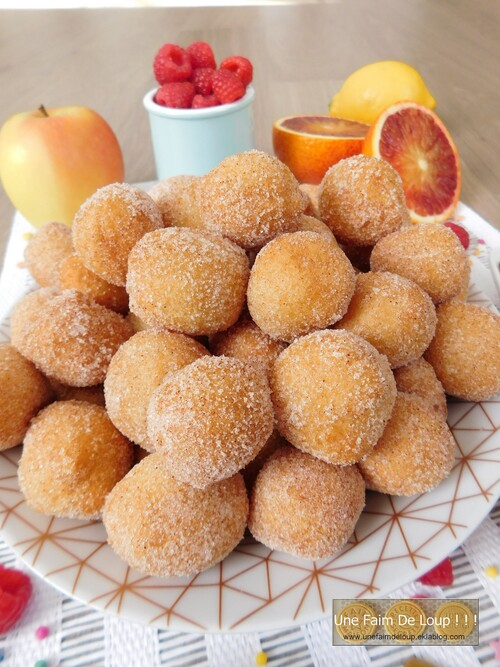 Beignets au fromage blanc