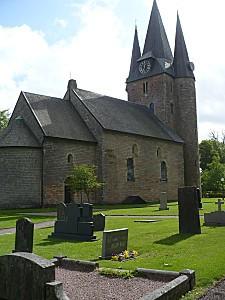 Une église fortifiée...
