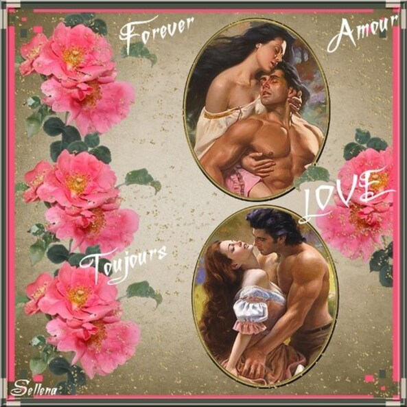 Amour toujours (taille réelle)