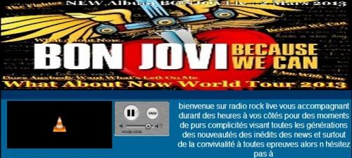 Ecoutez du BONJOVI non-stop 24H/24 et 7jours/7