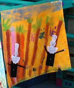 Art visuel à la mamière de Gauguin