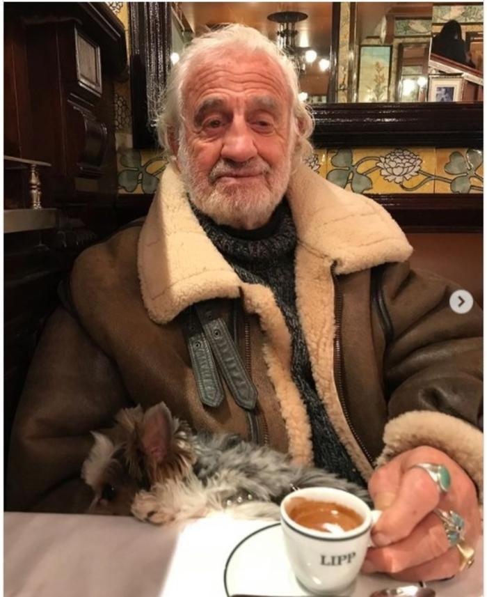 Jean-Paul Belmondo : sa petite-fille Annabelle poste un tendre cliché d'anniversaire