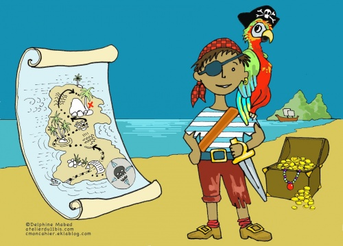 Cahier pirate
