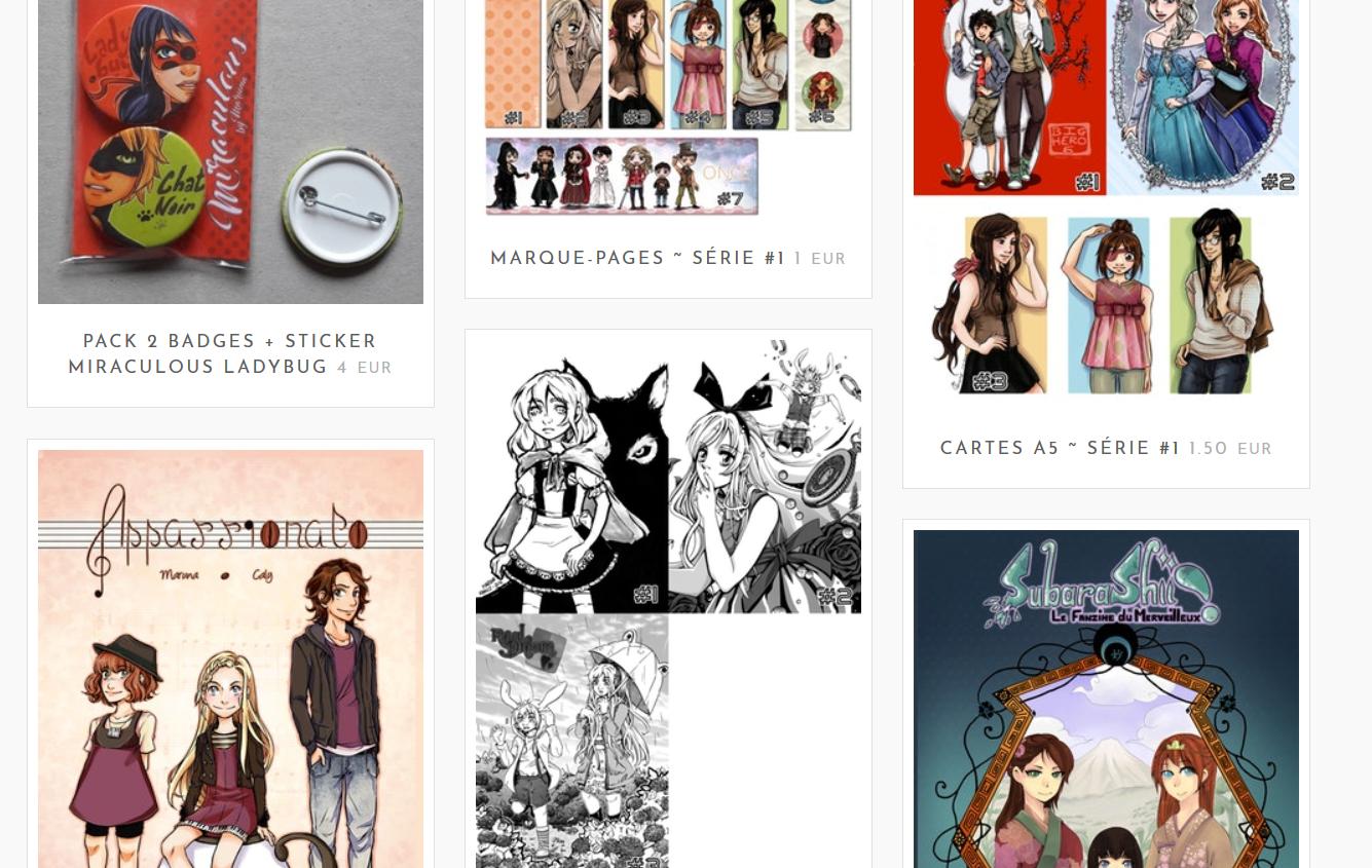 SHOP | Ouverture de la boutique du blog !