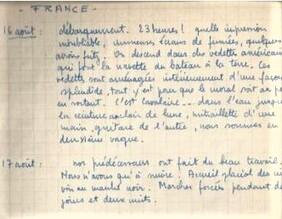 * Carnet de route de Maurice MEHAUT (FFL, BIMP) - 3 Libérer la France : de la Provence à l'Authion (1944-1945)