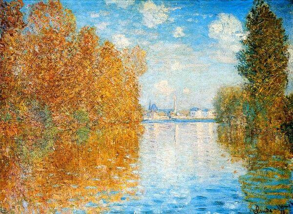 Mardi - C'est l'automne avec Monet