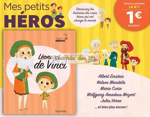 N° 1 Mes petits héros - Lancement
