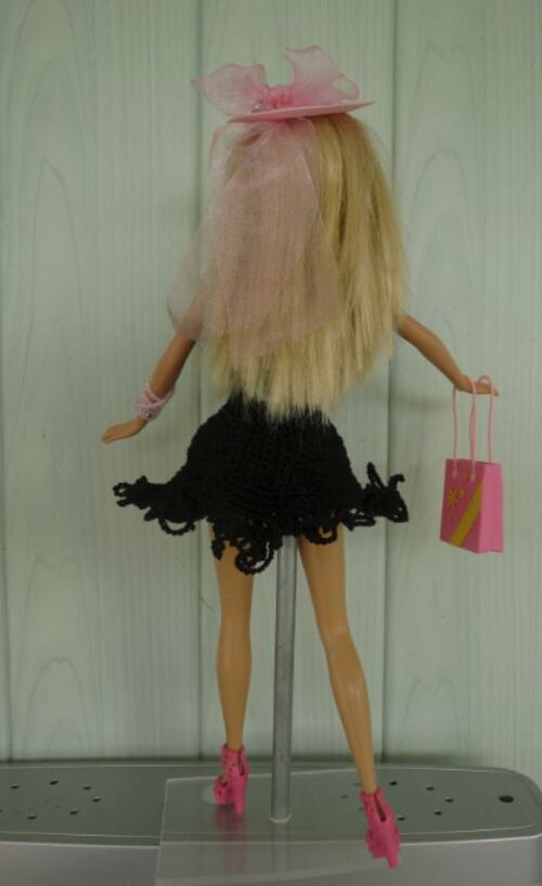 "La petite robe noire ""Midinette"""