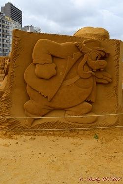 Sculptures de sables (2)