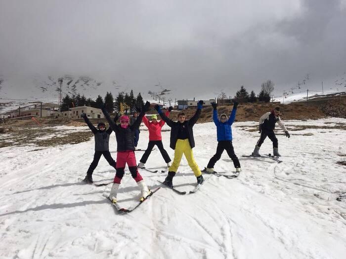 Skier et faire du quad aux Cèdres.