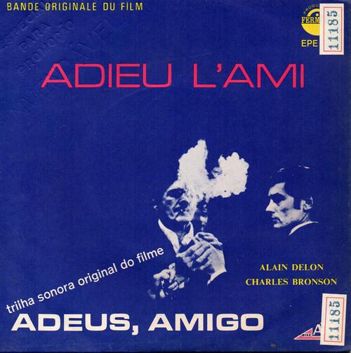 ADIEU L'AMI - ALAIN DELON 45 TOURS BRESIL