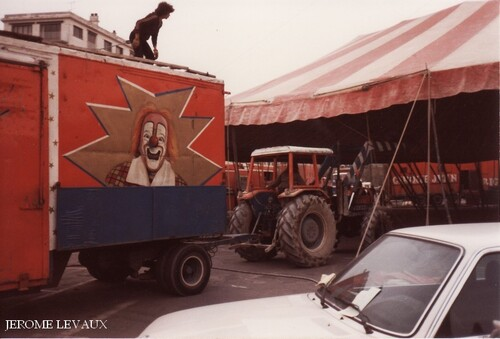 le cirque Jean Richard à Reims en novembre 1981 (2) - photos Jérôme Levaux
