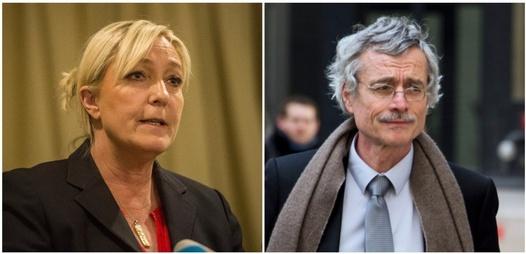 Marine Le Pen et Renaud Van Ruymbeke AFP / montage Challenges