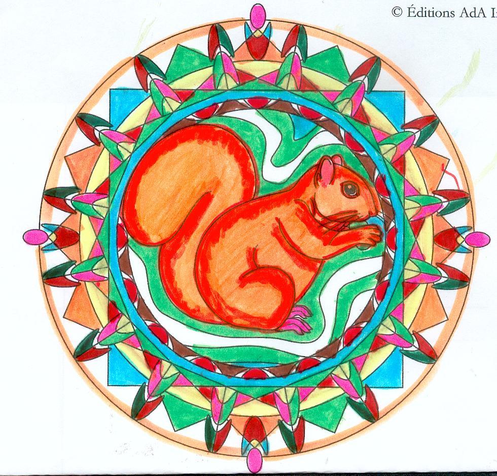 Mandalas des animaux domandalas - Mandalas animaux ...