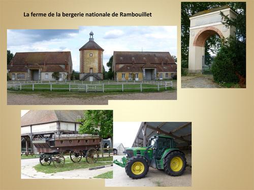 La ferme de la bergerie nationale de Rambouillet