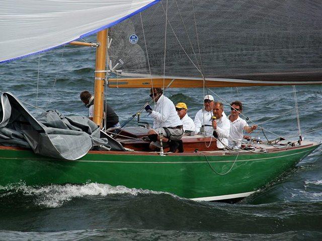 Harald en bateau
