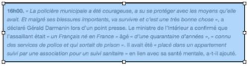 Le monde est français