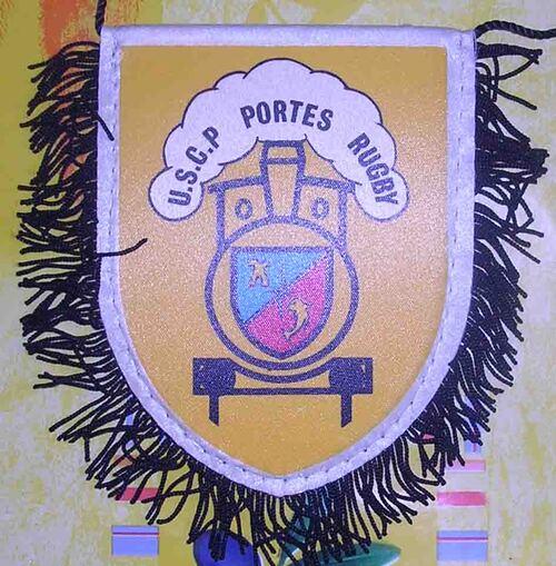 Fanion USC Portes