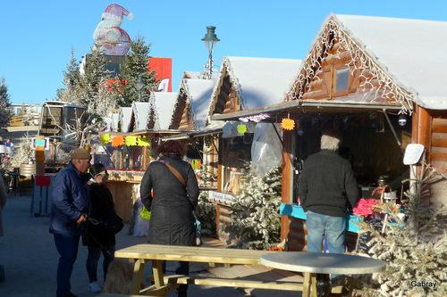 Barcarès: village de Noël