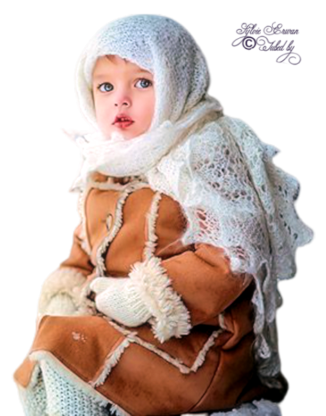 Tubes enfants hiver création 18