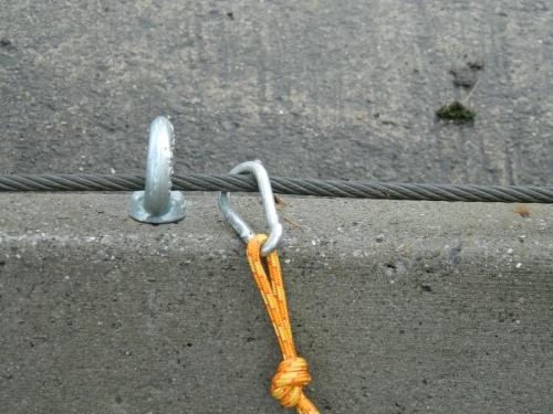 Fabriquer un stake out pour rando