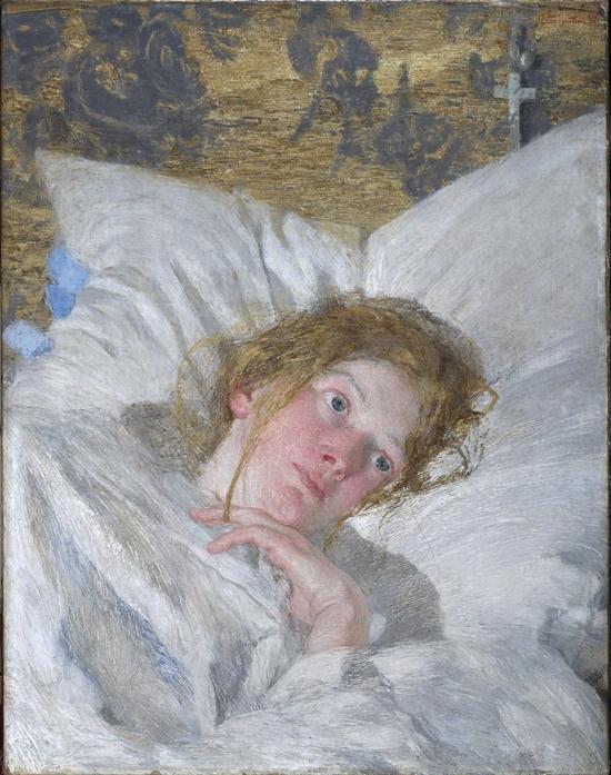 Giovanni Segantini, Pétale de rose