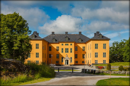 Soirée au château de Venngarn