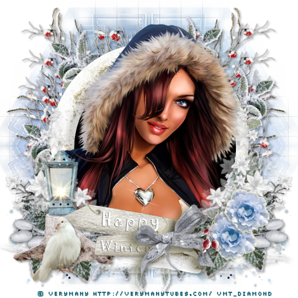 "Tutoriel ""Happy Winter"" de Zisca Design"