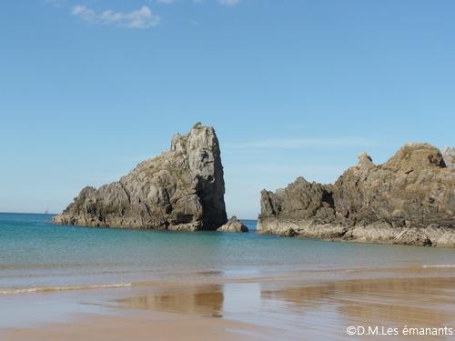 Les étranges rochers humanoïdes