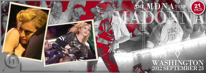 The MDNA Tour - Washington SEPT 23 - Pictures