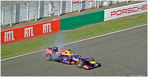 Le show Sébastien Buemi avec Red Bull Racing F1 au wsbr 2015