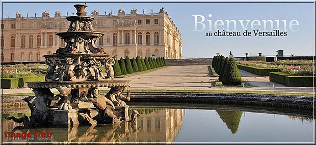 Le château de Versailles : visite virtuelle et histoire.