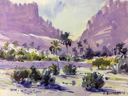 L'ARTISTE : Salim  BOUHALI d'EL-KANTARA-  BISKRA.