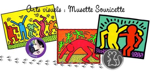 Musette Souricette - Keith Haring
