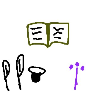 Accessoire des sorciers