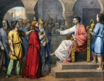 Primera Estación: Jesús es condenado a muerte - Vía Crucis 2013