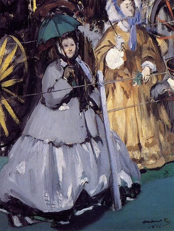 Manet 8 /     1865: la lecture
