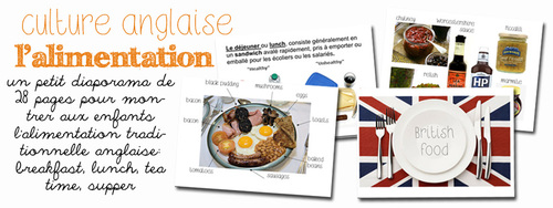 L'alimentation anglaise
